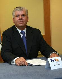 Ian Silverton, Responsable de Operaciones de FedEx Express para España