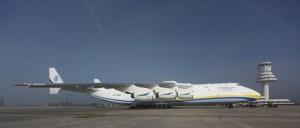 El Antonov 225 transportó 120  toneladas de material electrónico procedente de China