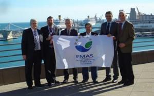 Las empresas Autoterminal, Cargill, Decal, Ergransa, Tepsa y Transrregueira recibieron la bandera EMAS