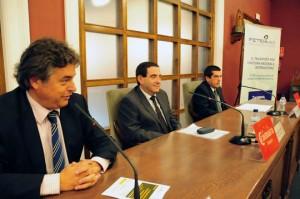 Alfonso Vicente (centro) junto a Enric Ticó y Pascual Duerto