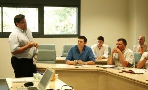 Jose Luís Morato en la presentación del Master