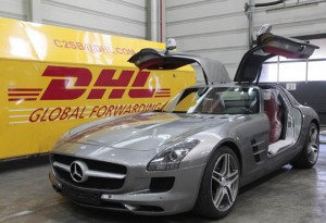 DHL Global Forwarding distribuye a nivel mundial el nuevo deportivo de Mercedes-Benz