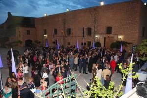 El cóctel de bienvenida se celebró en el Castillo de Santa Bárbara