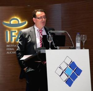 Carmelo Garrido, de la Dirección General de Servicios de Transporte y Logística de Renfe