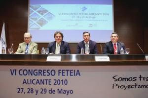 De izquierda a derecha: Manel Vicens, Enric Ticó, Mario Flores y Eugenio López