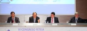 De izquierda aderecha: Guillermo García, Vicente Dómine, Carmelo Garrido y Fernando Cascales