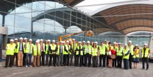 Visita a la nueva Terminal de carga y pasajeros del Aeropuerto de Alicante