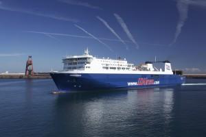 """El buque """"Norman Bridge"""" de la naviera GLD Atlantique"""