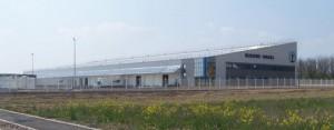 El nuevo centro de Kuehne Nagel en Chaponnay, al sureste de Lyon