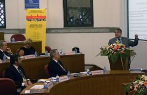 Jordi Valls durante su intervención en el CEIBS de Shanghai