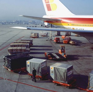 carga avion iberia