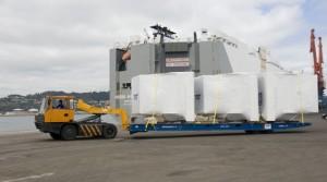 La naviera noruega Höegh Autoliners escala en Gijón dos veces al mes