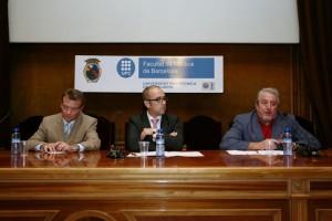 De izquierda a derecha: Santiago García-Milá, Santiago Ordás y Agustín Montori (Foto: Juanjo Martínez)