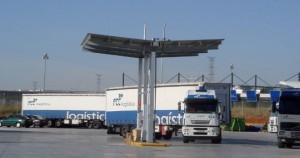 Surtidor de combustible de la base para la unidad de transportes