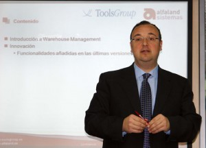 Juan Carlos Valadés, Director del Departamento Técnico de Alfaland Sistemas