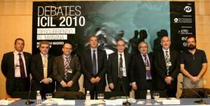 Participantes en el debate 3 sobre reforma laboral