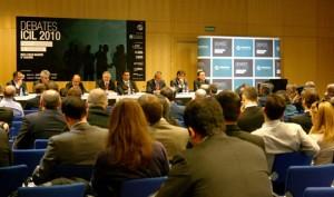 Participantes en el debate 4 sobre el futuro de los operadores logísticos