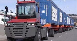Alfaland ha suministrado a Llinás el tractor Terberg RT-4x4, un equipo capaz de mover hasta 375 toneladas