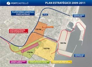 port castello Mapa Plataforma Logística