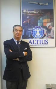 Alejandro de la Riera, director de la oficina en Vigo y coordinador del proyecto