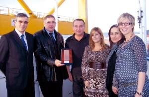Cristóbal Ruiz, Lluis París, Gennadiy Mikhaylov, Sandra Esteban, Eulalia Arana y Cristina Clofent