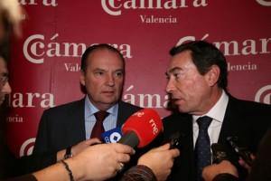 Mario Flores y José Vicente Morata