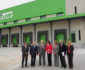 Momento de la inauguración de la nueva plataforma en Córdoba