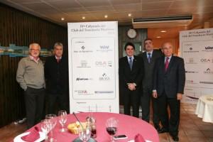 De izquierda a derecha: Josep Bertrán, Carlos Benavente, Amadeu Outeiro, Emilio Sanz y Jesús Revilla