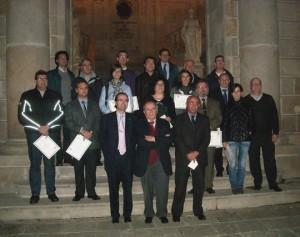 """Alumnos de la quinta promoción de """"Responsable OEA"""""""