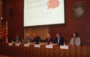 De izquierda a derecha: Cristina Batlle, Josep Tarragona, Antonio de la Ossa, Ildefonso Sánchez, Alejandro Arola y Marta Vallés