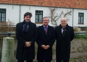 Juan José Sota, Joachim Coens y Vincent De Saedeleer