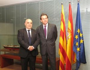 José Luis Cachafeiro y Sixte Cambra