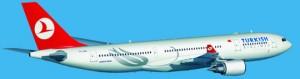 turkish airlines a330 ucak