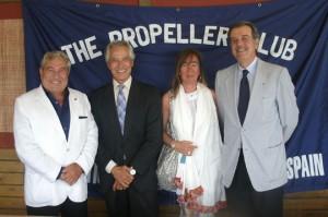 Carlos Martínez-Campo, Jacinto Seguí, Anna Mestre y Pedro Maqueda