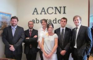 Equipo de profesionales de AACNI