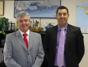 Carlos Larrañaga, Director General TCB y Daniel Muñoz, Director de Calidad, PRL y MA