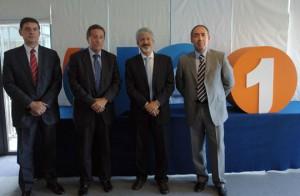 Luis Marceñido, Gonzalo Sanz, Fernando Rodríguez y Ángel Gausinet