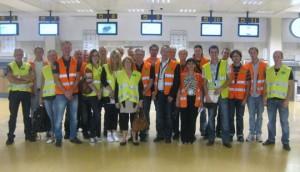 Visita a GRO aeropuerto sueco de Skelleftea 1