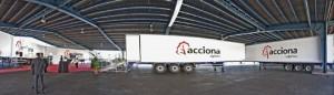 nueva flota  frigorífica ACCIONA Logística