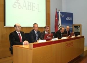 De izquierda a derecha: Joan Marín, Antoni Fondevilla, Juan Ramón Rodríguez, José Antonio Martínez y Santiago Tarín