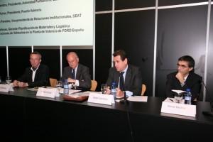 De izquierda a derecha: Luis Rafecas, Rafael Aznar, Sixte Cambra y Manel Medina