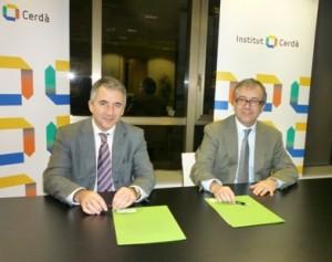 Pere Roca y Carles Cabrera