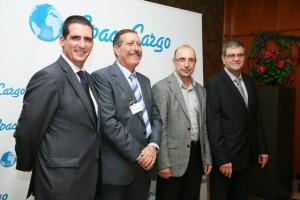 Oscar Sevilla, Manuel Valenzuela, Jordi Pellicé, y Xavier Bernal