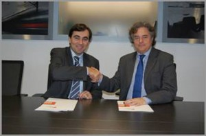 Enric Ticó (derecha) y Enric Blasco