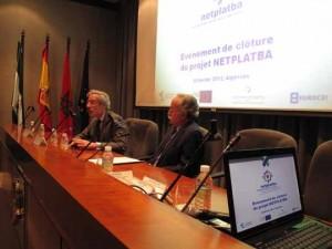 José Antonio López de Eurocei y Manuel Morón, Presidente APBA