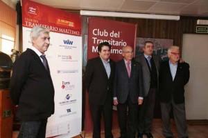 Carlos Benavente, Amadeu Outeiro, Jesús Revilla, Emilio Sanz y Josep Bertrán