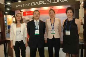 De izquierda a derecha, Núria Burguera, Santiago Garcia-Milà, Carla Salvadó y Mar Pérez