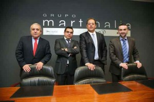 José Martínez, Manel Martínez, Antonio Rodríguez y Josep Torres