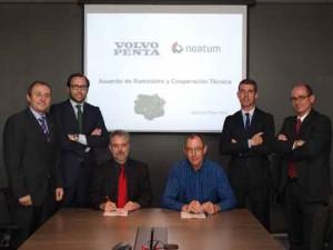 Foto acuerdo Noatum-Volvo