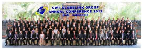 Conferencia anual de CWT Globelink Group en Bali